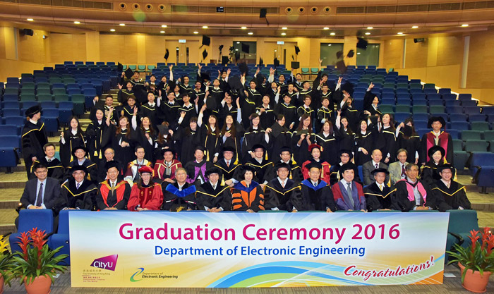 EE Graduation Ceremony 2016