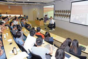 Mr Lau Ming Wai, Guest Speaker 2016