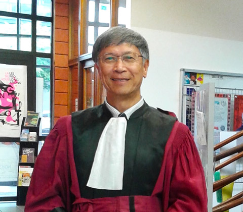 Prof Ron Chen Guanrong has been conferred Honorary Doctorate by the University of Le Havre
