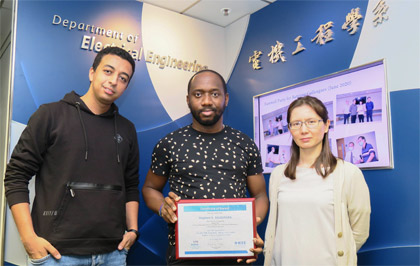 Second Prize of the IEEE EMB Hong Kong 2020