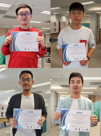 EE Teams Won Four Student Paper Awards in the 21st IEEE (HK) AP/MTT Postgraduate Conference